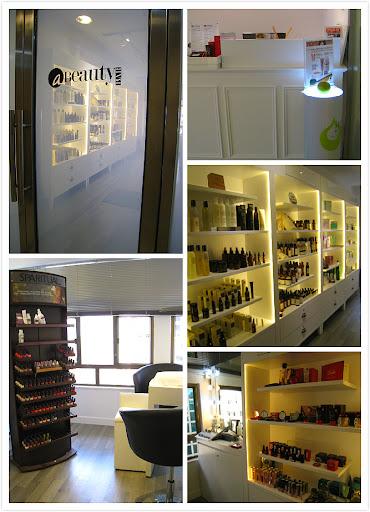 a Beauty Bar ~ Express Detox Arm Treatment & Forture Varnish Nail Service
