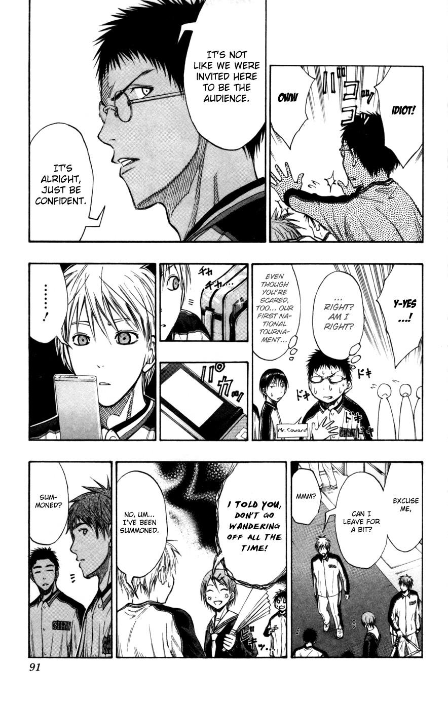 Kuroko no Basket Manga Chapter 113 - Image 04