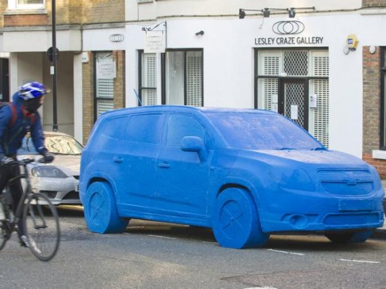 Life Size Chevrolet Is Worlds Largest Play Doh Sculpture Likepage