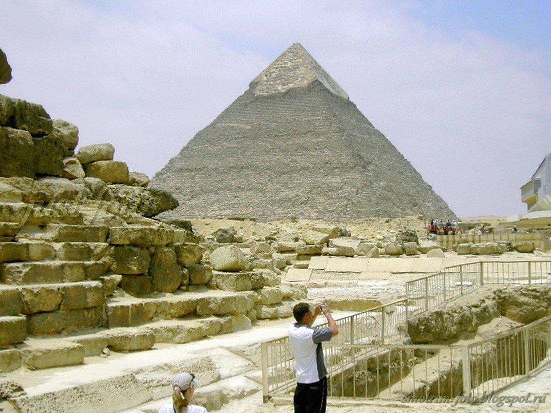 Египетская пирамида Хефрена (Хафры)