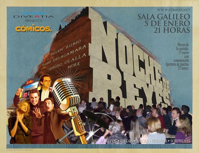 Noche de Reyes - Cómicos 2014