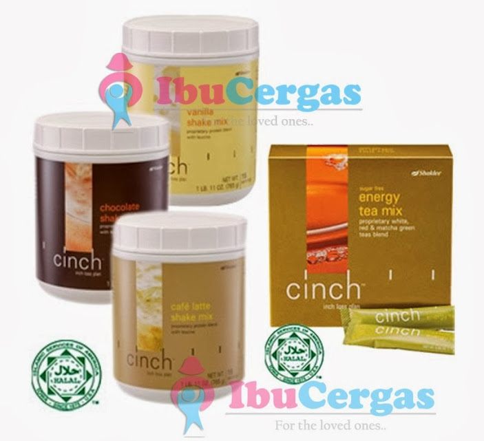 set kurus shaklee cinch shake