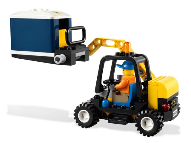 LEGO シティ タウン リサイクルトラック 4206