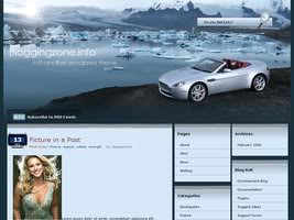 Glacier Car Wordpress Theme