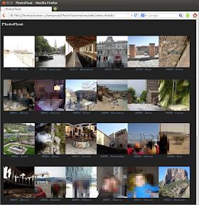 Creando una galería de imágenes con PhotoFloat