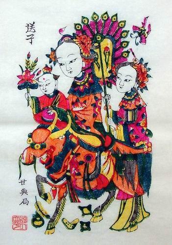 Goddess Bixia Yuanjin Image