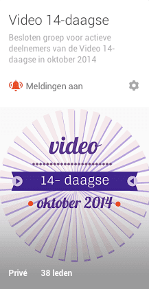 14-Daagse Video Challenge door Brenda Kok
