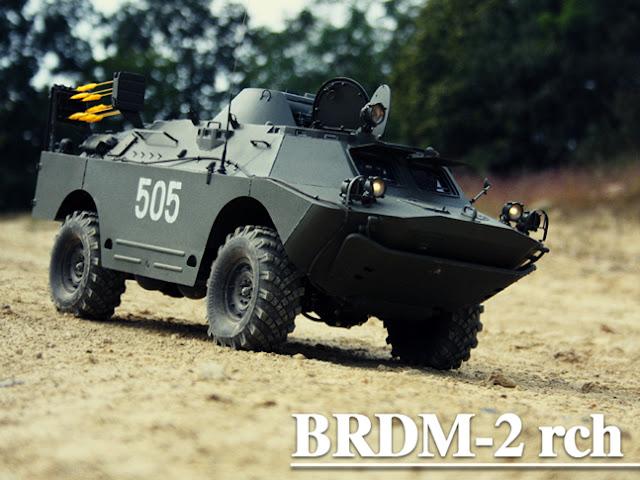 un fou génial BRDM2
