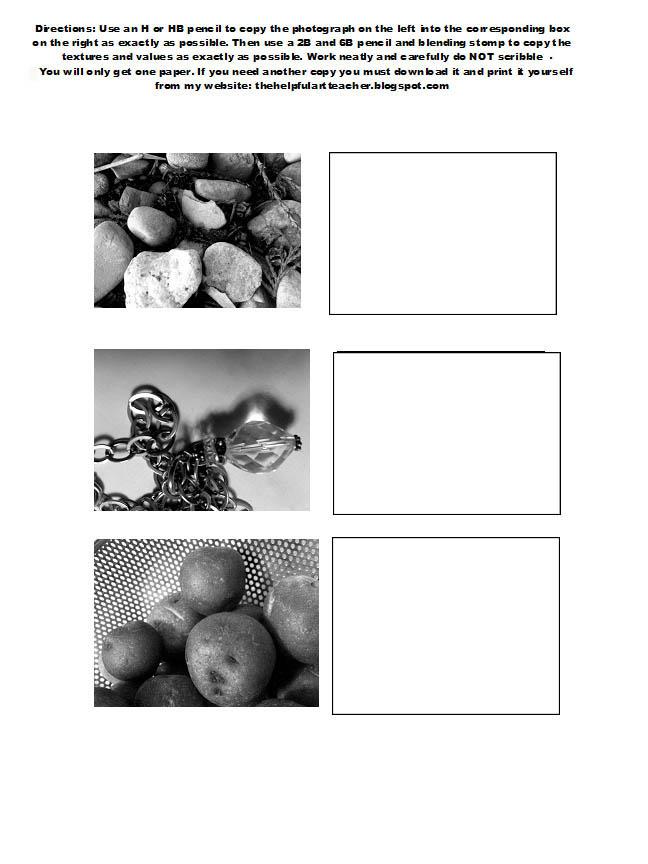 Art Worksheets High School Images Photos - FynnEXP