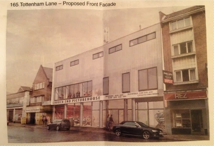 Sign the petition: Multiplex cinema a mistake for Crouch End