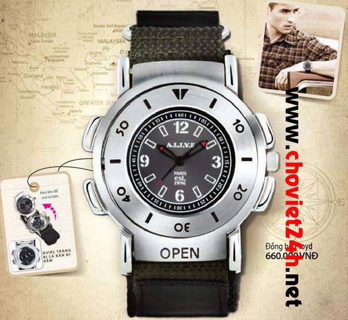 Đồng hồ thời trang nam Sophie Floyd - GPU174