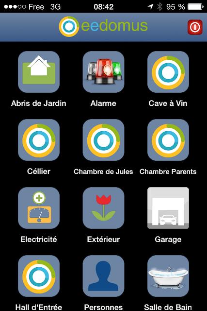 Ecran iOS