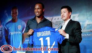Didier Drogba Shanghai Shenhua