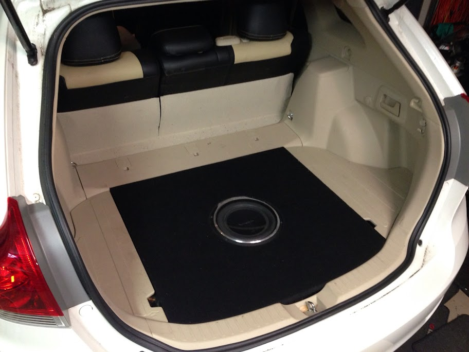 Aftermarket Subwoofer And Amp Locations Toyota Nation
