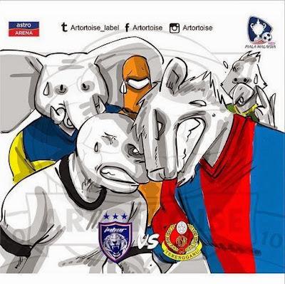 Piala Malayis: Keputusan terkini suku akhir kedua 16 Oktober 2014
