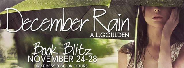 Book Blitz: December Rain by A.L. Goulden