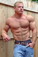 Big Muscle Daddy Bodybuilder