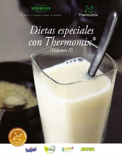 Foto Portada Libro 'Dietas Especiales con TMX Volumen II'