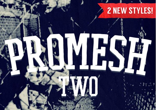 PROMESH TWO Free Fonts