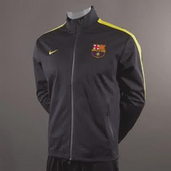 Jual Jaket Barcelona Hitam Kuning