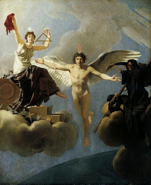 Jean-Baptiste Regnault - The Genius of France between Liberty and Death