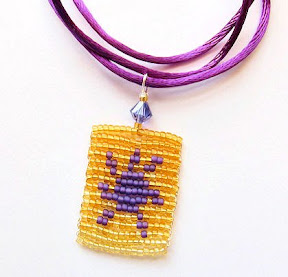Tangled Sun Lantern Necklace
