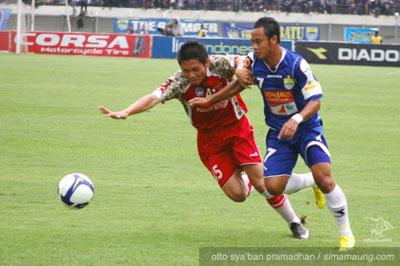 Persib vs Bontang FC