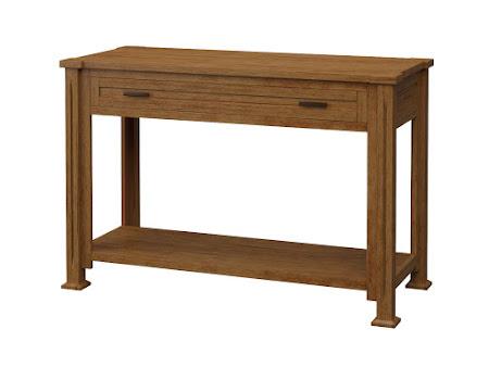 Sacramento Sofa Table in Como Maple