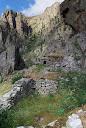 L'immense ravin sans nom (Liliotone?) en face des bergeries de Furmicuccia
