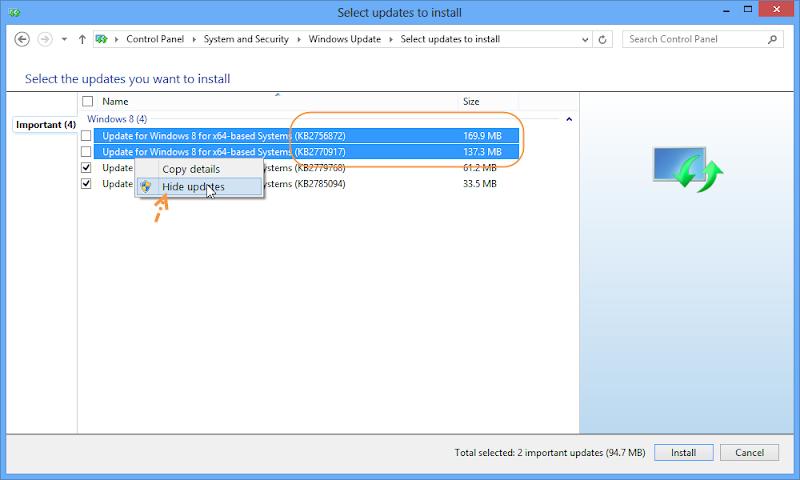 ป้องกันการ Deactivate ใน Windows 8 ด้วยการปรับแต่งการอัพเดตของวินโดวส์ W8upset05