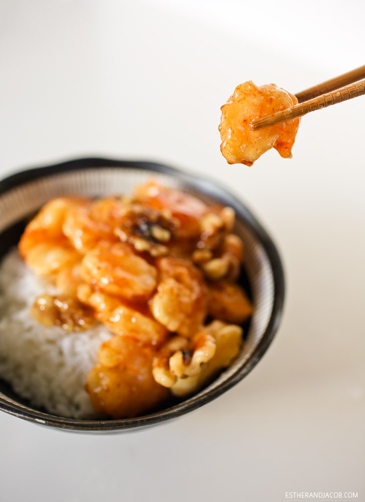 Easy Honey Walnut Shrimp Recipe // Shrimp Recipes.