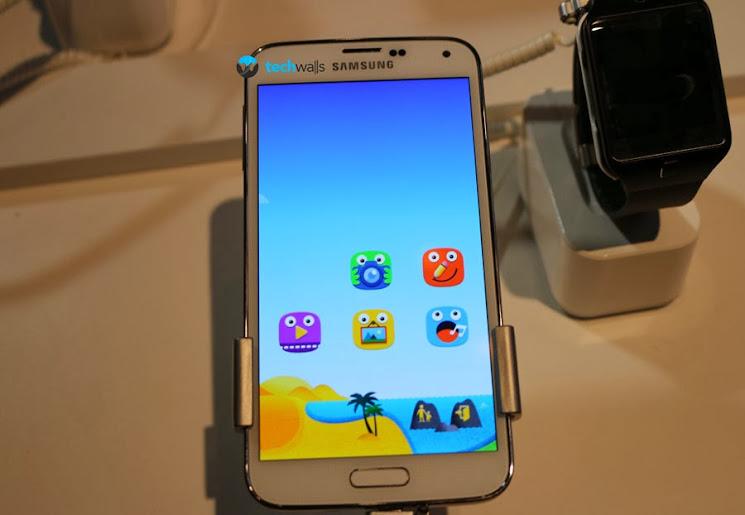 Fitur Kids Mode Pada Samsung Galaxy S5