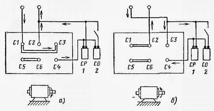 pornirea motoarelor prin intermediul condesatoarelor  u00ab scheme electrice  u2013 circuit diagram