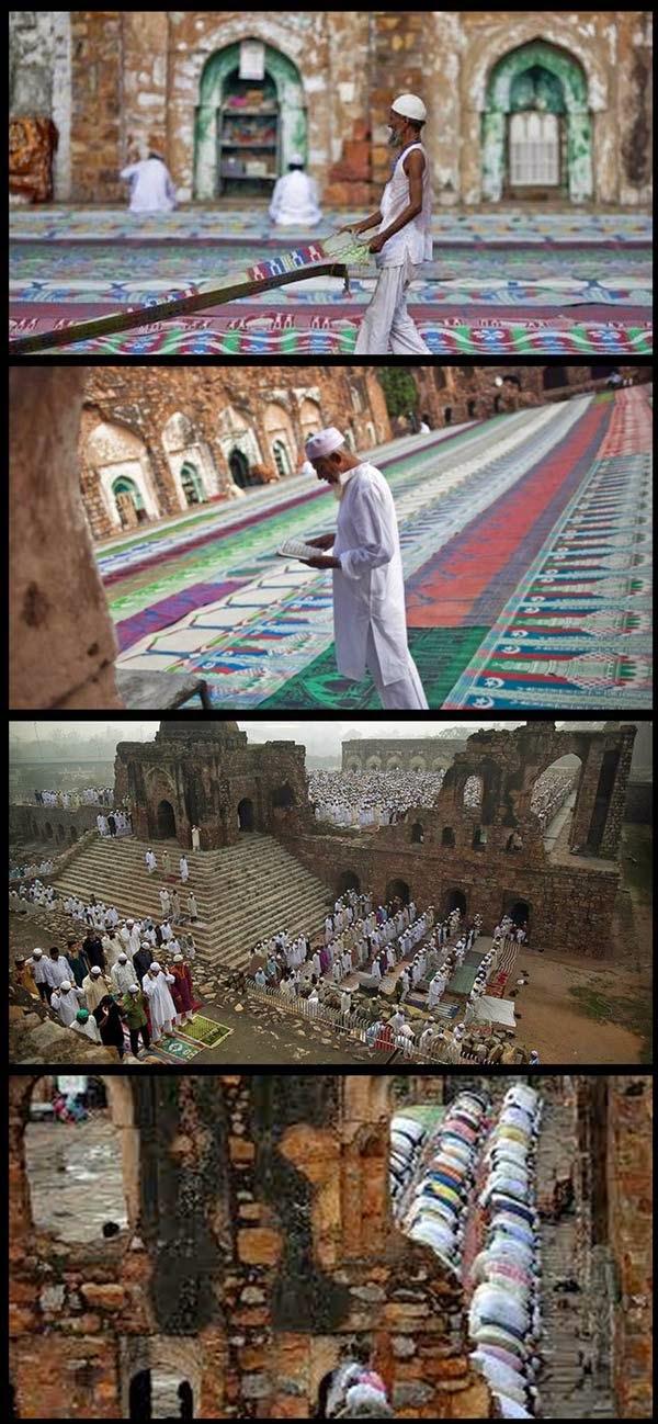 Serius - Masjid Jamek Kota Feroz Shah Delhi : Musnah Tapi Masih