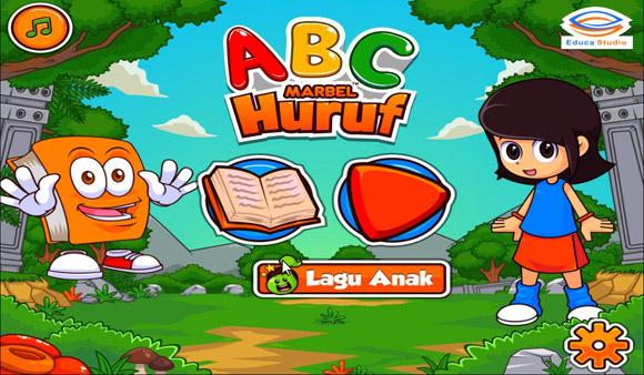 Game Anak: Game Edukasi Marbel Belajar Huruf