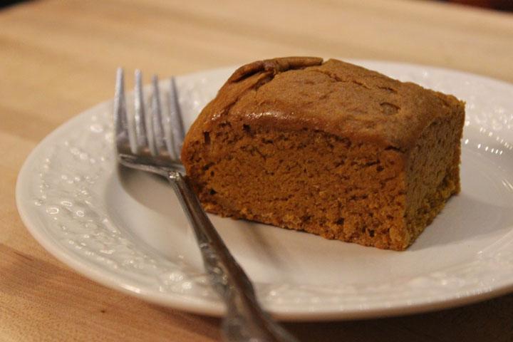 Pumpkin Spice Brownies