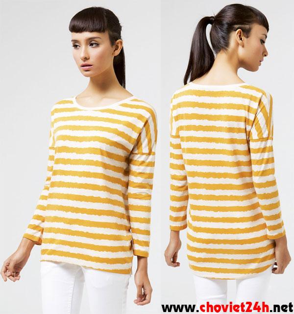 Áo thời trang Sophie Brigita Mustard