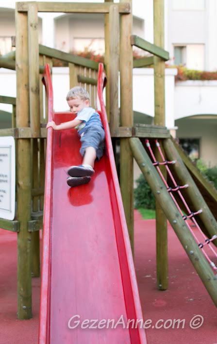 Xanadu otelin çocuk parkında