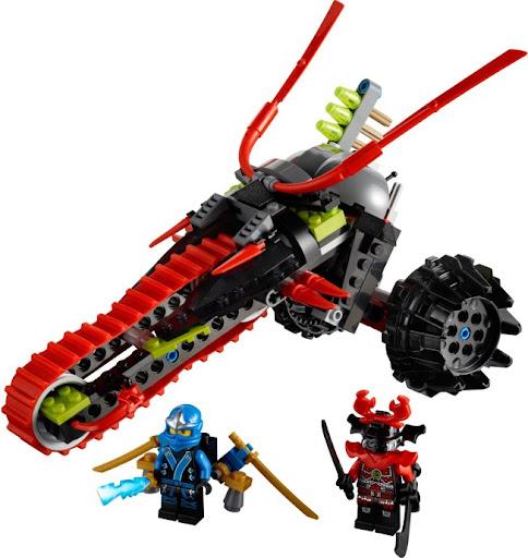 70501 レゴ ワルワルサムライバイク(ニンジャゴー)