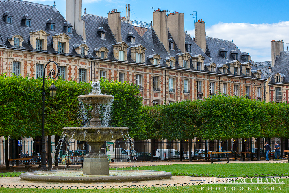 到巴黎攝影 孚日廣場 Place des Vosges