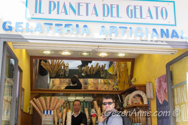 dondurmacı (gelateria), Amalfi