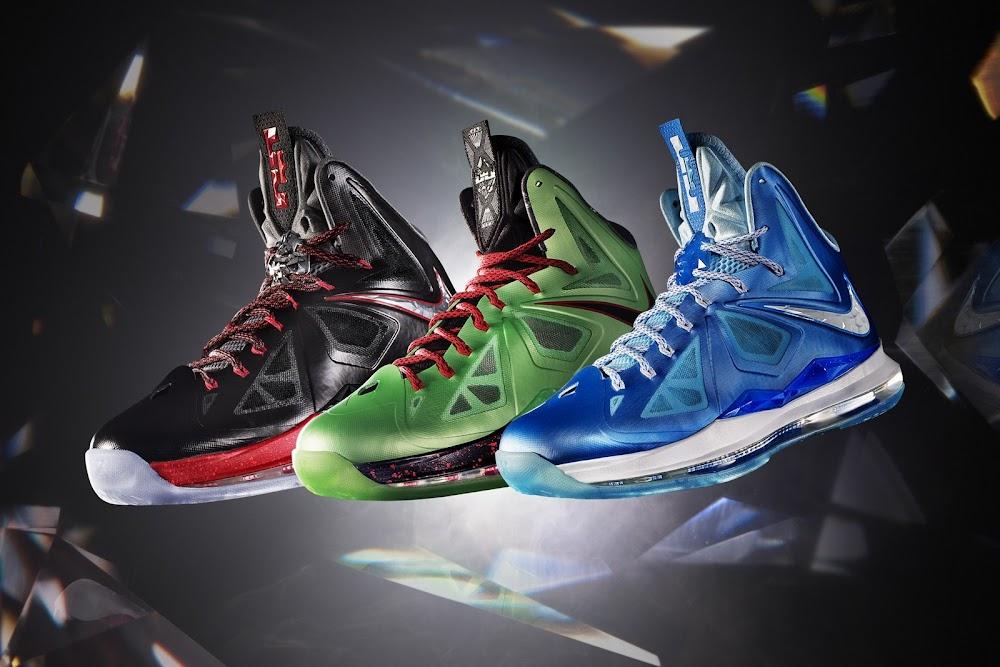 Nike Lebron 10 X Blue Diamond