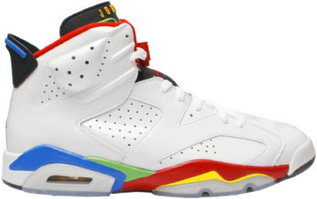 f2c9dd28cb2 Who was rockin these Air Jordan Olympic 6 s last night on the court  Check  out that jump to see who .