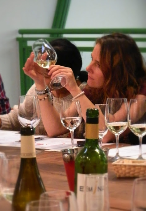 Emina Rueda wine tasting