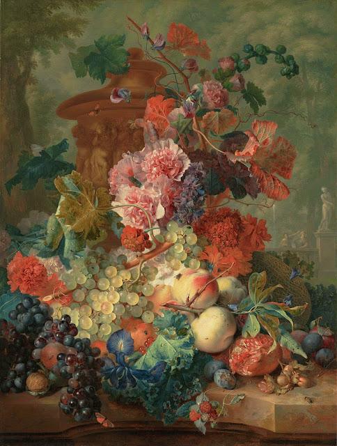 Jan van Huysum - Fruit Piece - Google Art Project