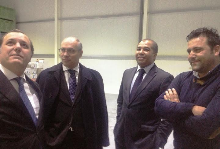 Secretário de Estado da Economia visitou empresas de Lamego