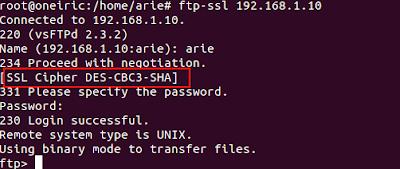 ssl3 Cara Mudah Mengamankan FTP Server (VSFTPD) Dengan Koneksi TLS/SSL