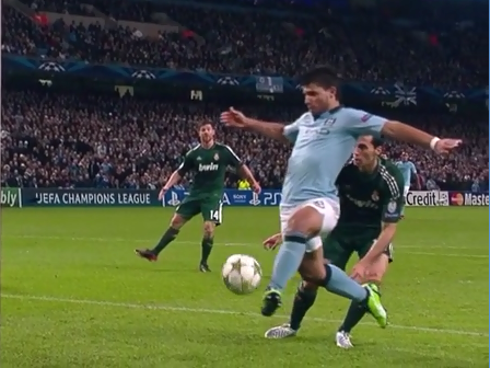 Aguero, Schalke 04 - Arsenal