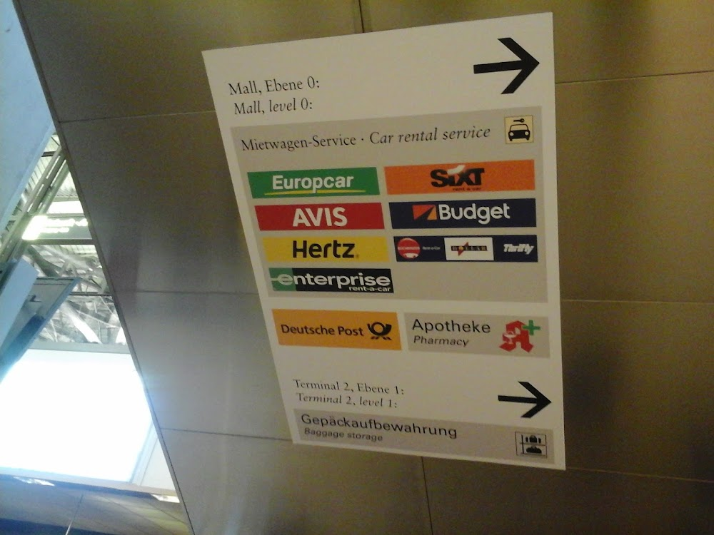 Аренда авто в Мюнхене в аэропорту hertz фото