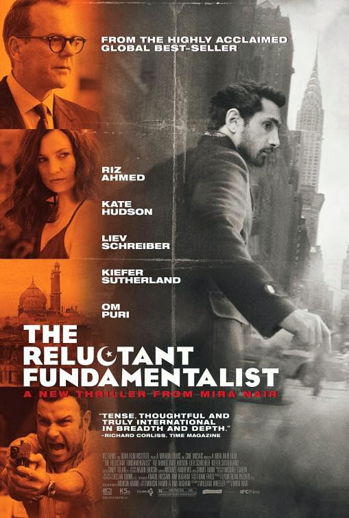 Poster Of The Reluctant Fundamentalist (2012) Full Movie Hindi Dubbed Free Download Watch Online At Alldownloads4u.Com